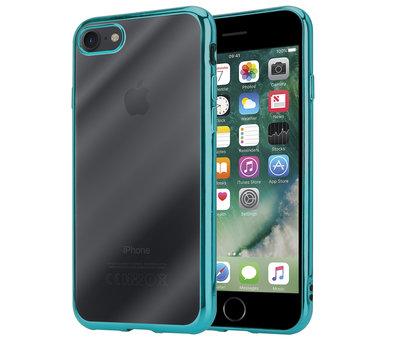 ShieldCase® ShieldCase groene metallic bumper case iPhone 8 / 7