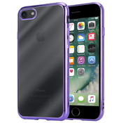 ShieldCase® Paarse metallic bumper case iPhone 8 / 7