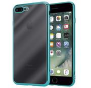 ShieldCase® Groene metallic bumper case iPhone 8 Plus / 7 Plus