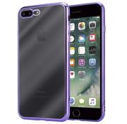 ShieldCase® Paarse metallic bumper case iPhone 8 Plus / 7 Plus