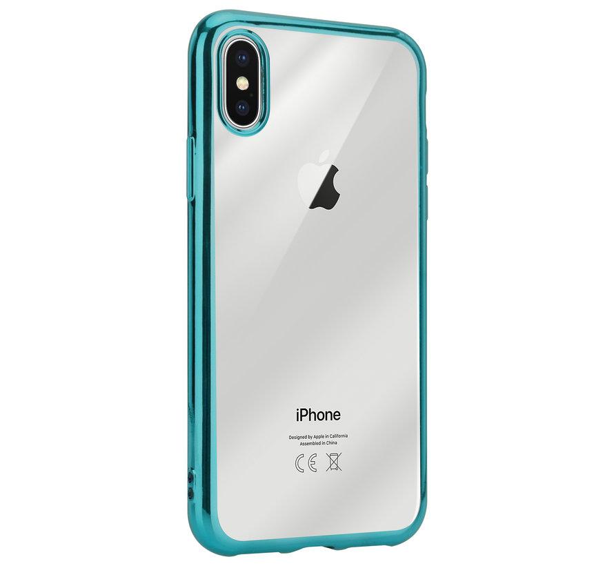 ShieldCase groene metallic bumper case iPhone X / Xs