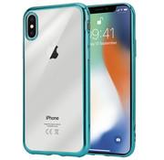ShieldCase® Groene metallic bumper case iPhone X / Xs