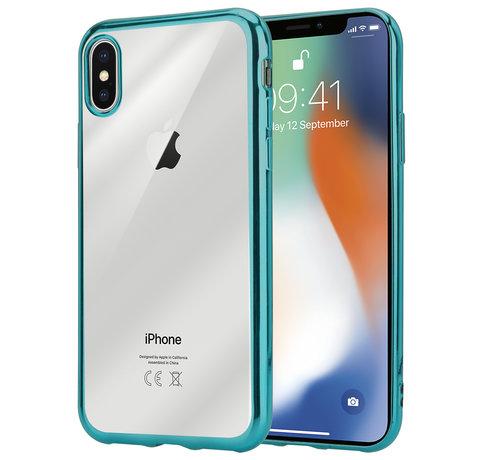 ShieldCase® ShieldCase groene metallic bumper case iPhone X / Xs
