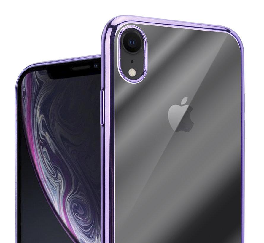 ShieldCase paarse metallic bumper case iPhone Xr
