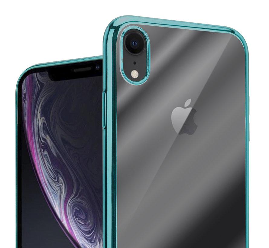 ShieldCase groene metallic bumper case iPhone Xr