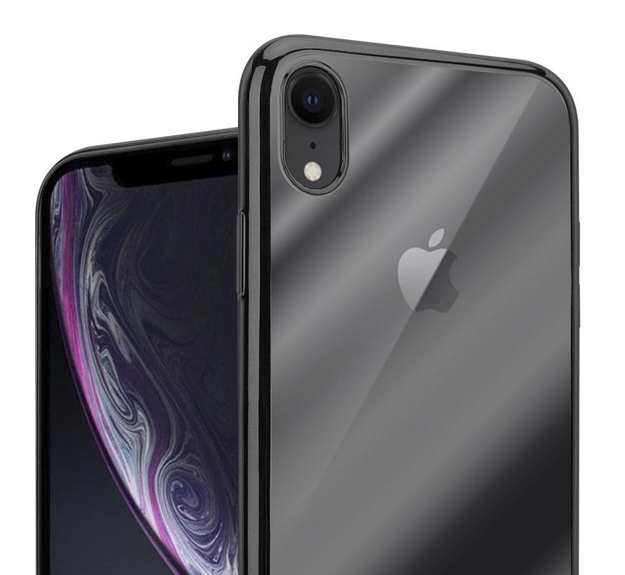 ShieldCase Zwarte metallic bumper case iPhone Xr
