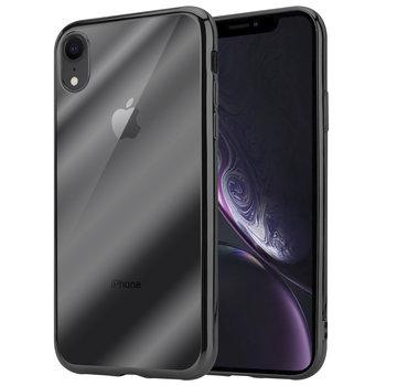 ShieldCase® Zwarte metallic bumper case iPhone Xr