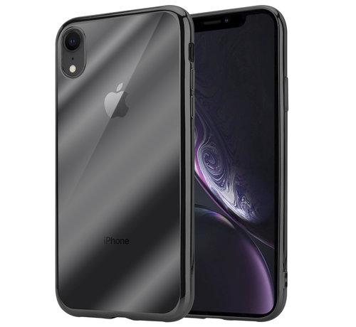ShieldCase® ShieldCase Zwarte metallic bumper case iPhone Xr