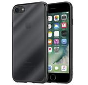 ShieldCase® Zwarte metallic bumper case iPhone SE 2020