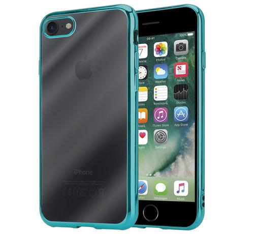ShieldCase® ShieldCase groene metallic bumper case iPhone SE 2020