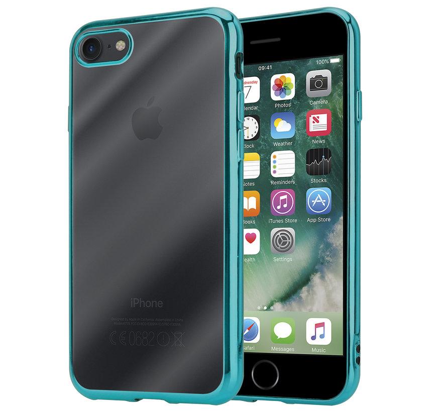 ShieldCase groene metallic bumper case iPhone SE 2020