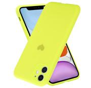 ShieldCase® iPhone 11 hoesje met geel hartje