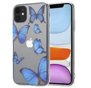 ShieldCase® iPhone 11 hoesje met vlinders