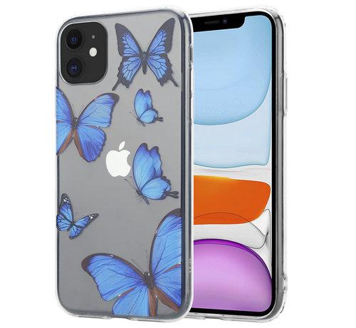 ShieldCase® ShieldCase iPhone 11 hoesje met vlinders