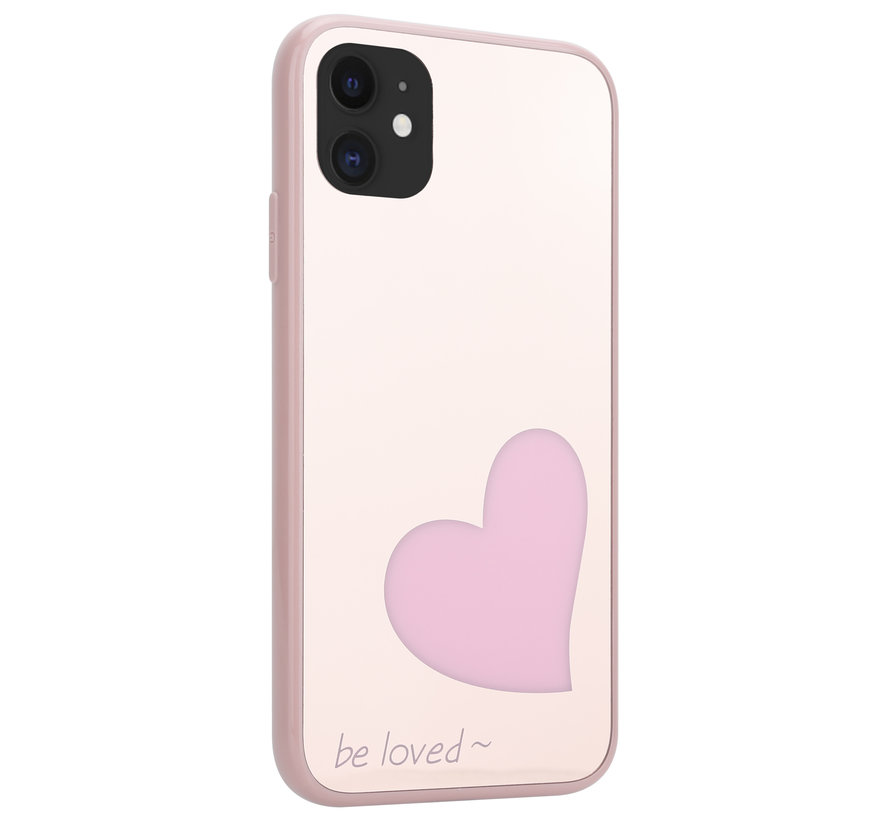 ShieldCase Be Loved Mirror iPhone 11 hoesje