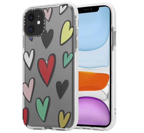 ShieldCase® ShieldCase Colorful Love iPhone 11 hoesje