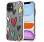 ShieldCase Colorful Love iPhone 11 hoesje