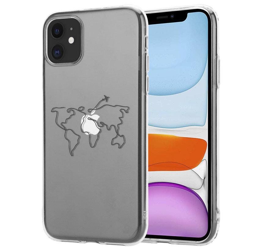 ShieldCase Wanderlust iPhone 11 hoesje (transparant)