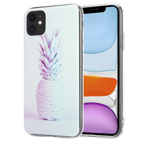 ShieldCase ShieldCase iPhone 11 hoesje met ananas print