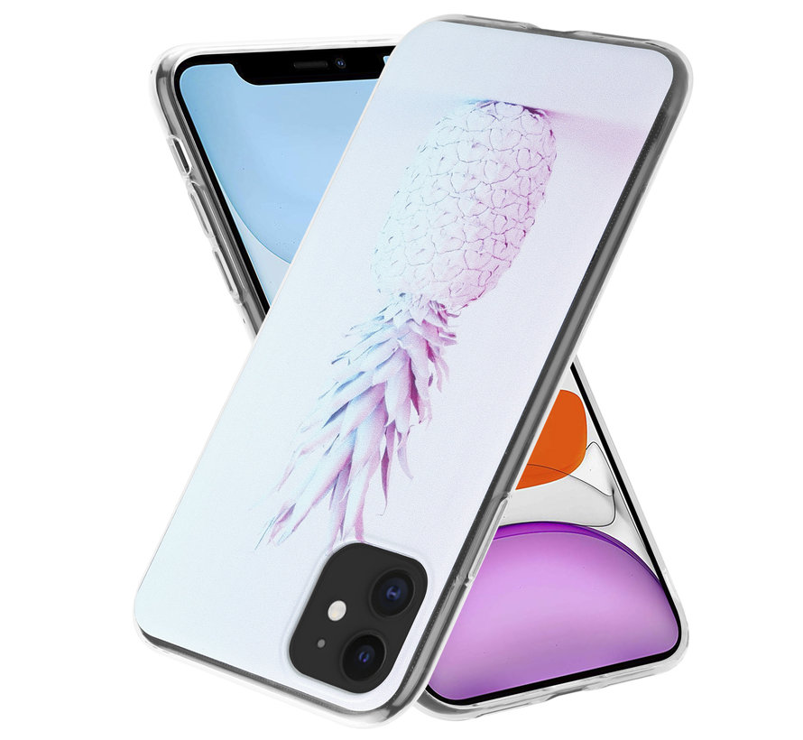 ShieldCase iPhone 11 hoesje met ananas print