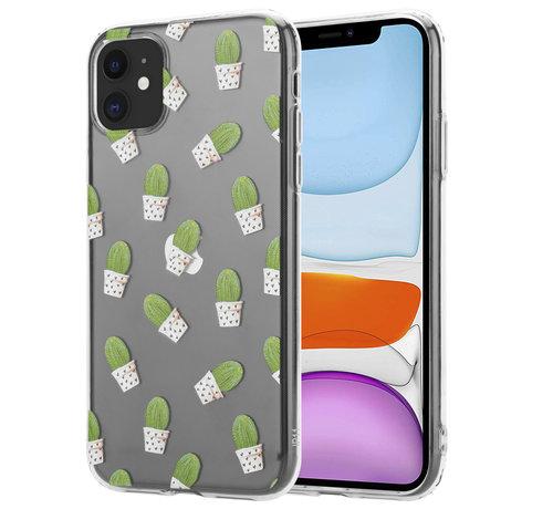 ShieldCase® ShieldCase iPhone 11 hoesje met cactuspatroon