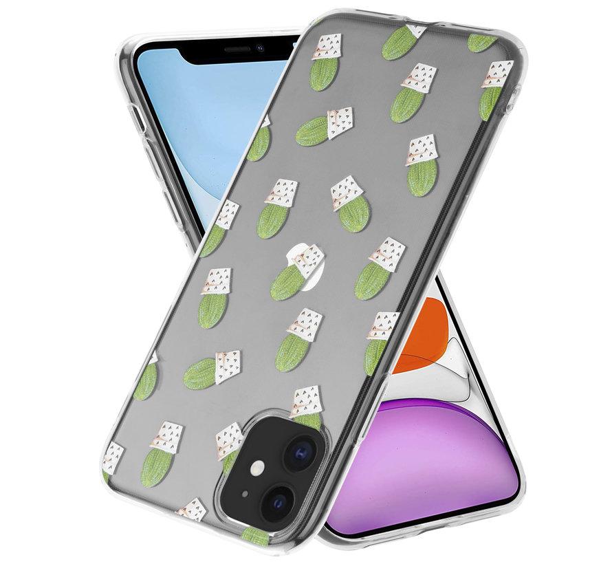 ShieldCase Cute Cactus iPhone 11 hoesje