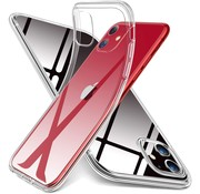 ShieldCase Ultra thin silicone hoesje iPhone 11 (transparant)