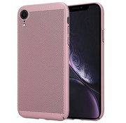 ShieldCase® iPhone Xr dun design hoesje (rosé goud)