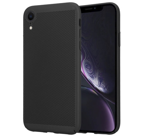 ShieldCase® ShieldCase iPhone Xr dun design hoesje (zwart)