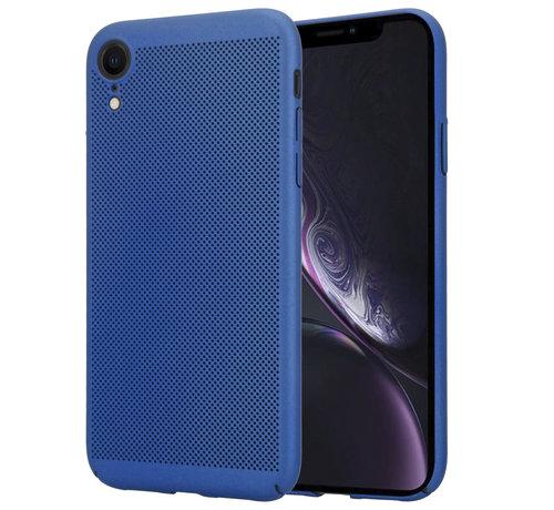 ShieldCase ShieldCase iPhone Xr dun design hoesje (blauw)