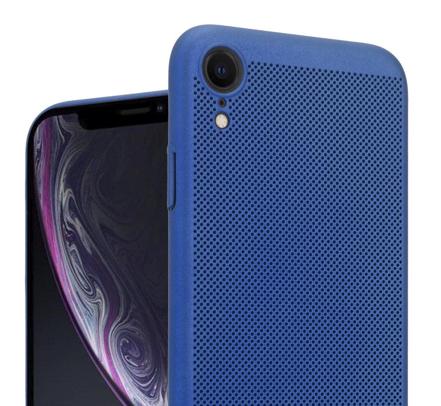 ShieldCase iPhone Xr dun design hoesje (blauw)