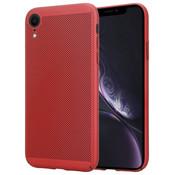 ShieldCase® iPhone Xr dun design hoesje (rood)