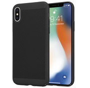 ShieldCase® iPhone X / Xs dun design hoesje (zwart)