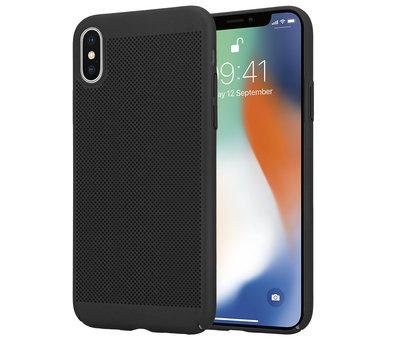 ShieldCase® ShieldCase iPhone X / Xs dun design hoesje (zwart)