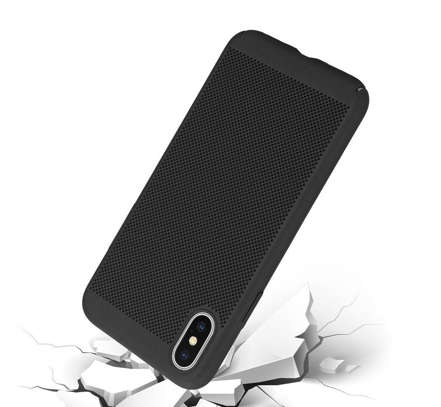 ShieldCase iPhone X / Xs dun design hoesje (zwart)