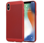 ShieldCase® iPhone X / Xs dun design hoesje (rood)