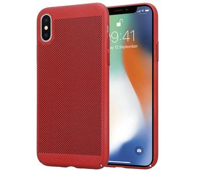 ShieldCase ShieldCase iPhone X / Xs dun design hoesje (rood)