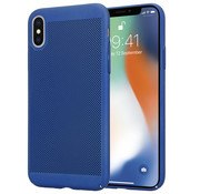 ShieldCase® iPhone X / Xs dun design hoesje (blauw)