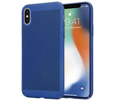 ShieldCase ShieldCase iPhone X / Xs dun design hoesje (blauw)