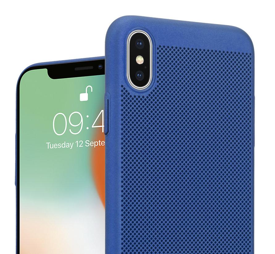 ShieldCase iPhone X / Xs dun design hoesje (blauw)
