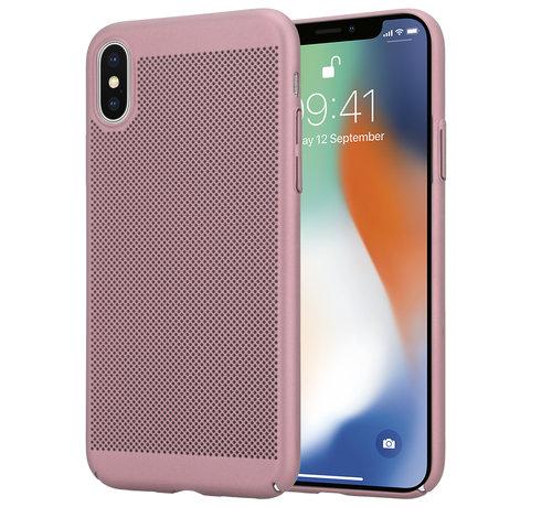 ShieldCase® ShieldCase iPhone X / Xs dun design hoesje (rosé goud)