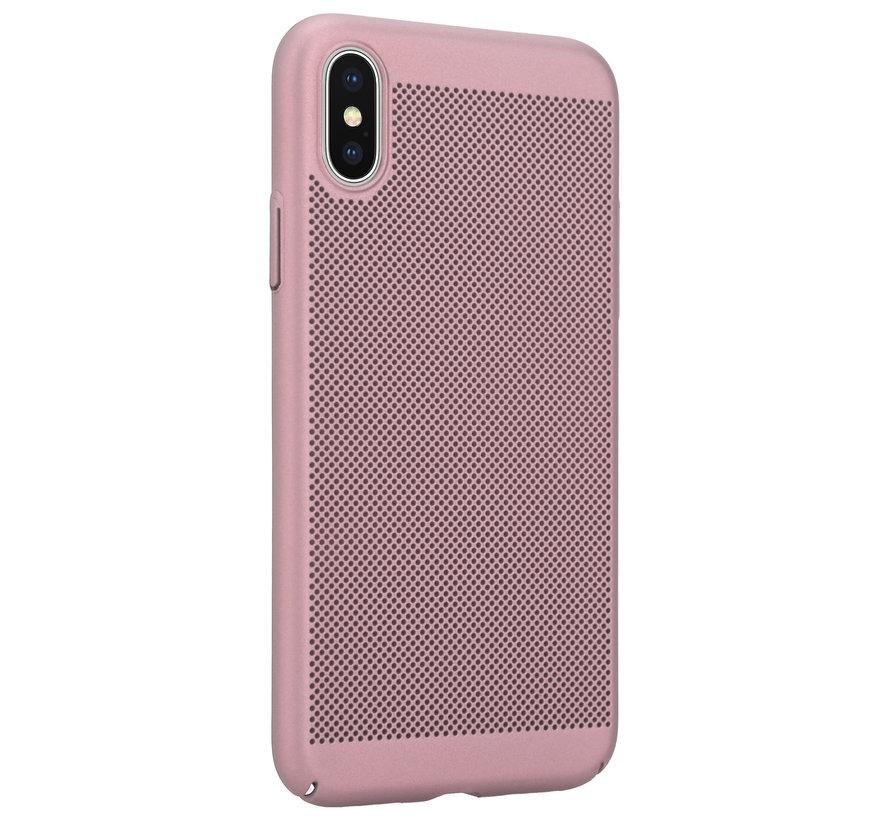 ShieldCase iPhone X / Xs dun design hoesje (rosé goud)