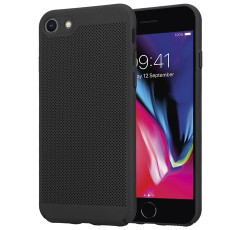 ShieldCase® ShieldCase iPhone 7 / 8 dun design hoesje (zwart)