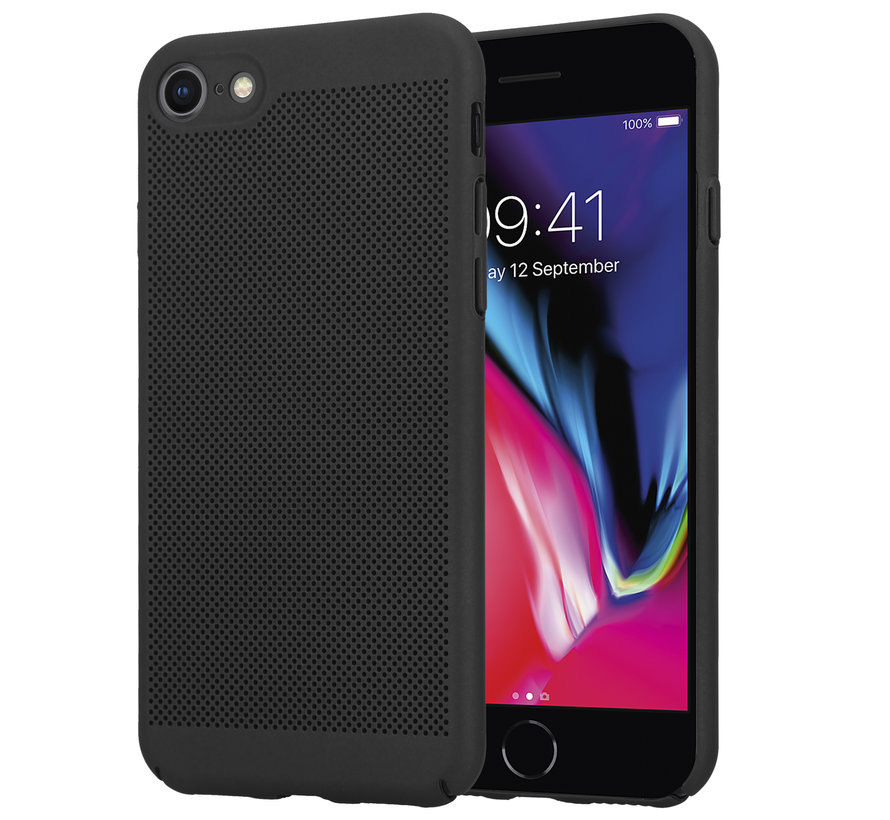 ShieldCase iPhone 7 / 8 dun design hoesje (zwart)