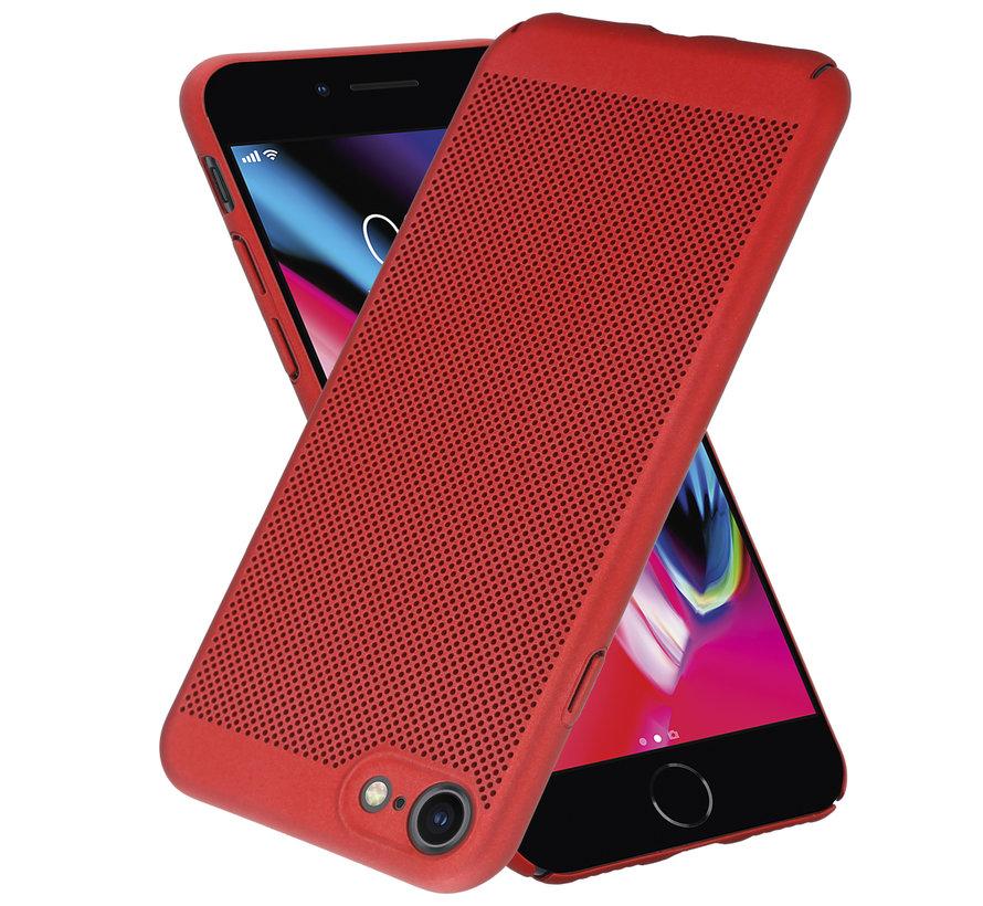 ShieldCase iPhone 7 / 8 dun design hoesje (rood)