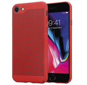 ShieldCase® iPhone 7 / 8 dun design hoesje (rood)
