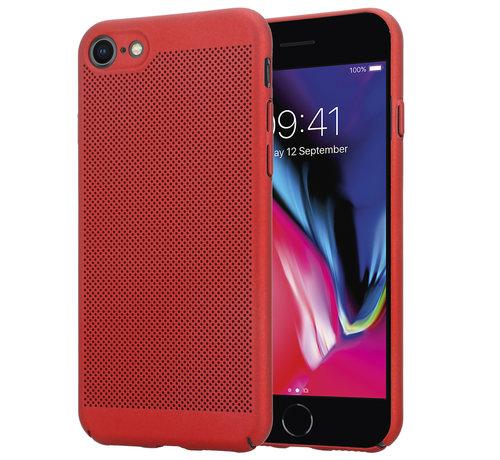 ShieldCase® ShieldCase iPhone 7 / 8 dun design hoesje (rood)