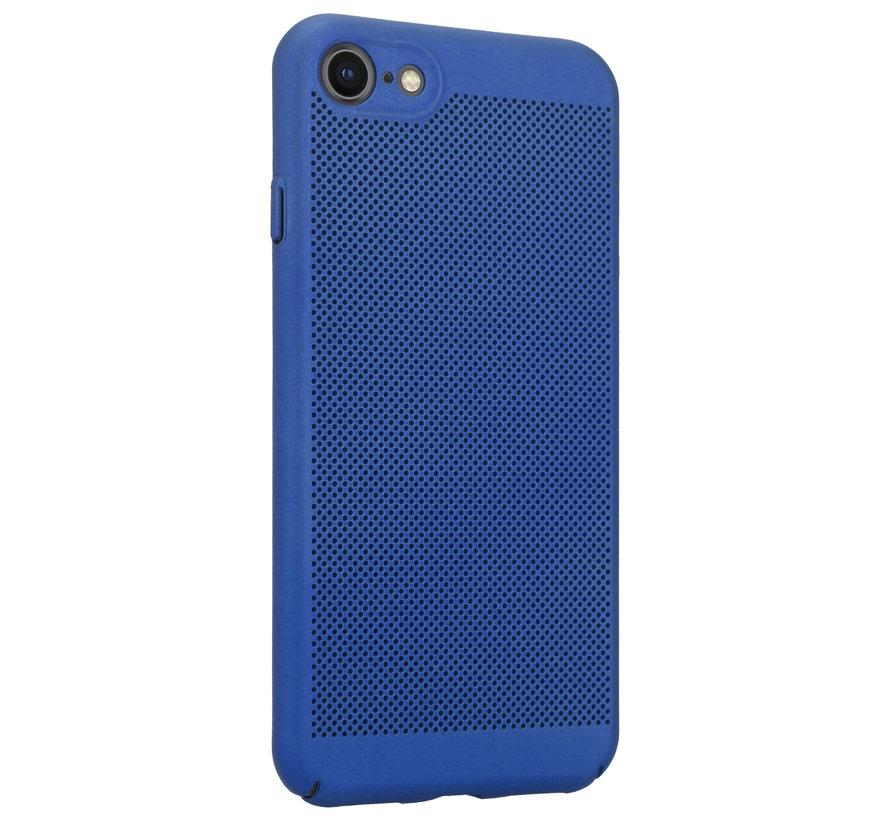 ShieldCase iPhone 7 / 8 dun design hoesje (blauw)