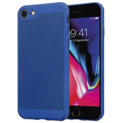 ShieldCase® iPhone 7 / 8 dun design hoesje (blauw)
