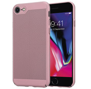 ShieldCase® iPhone 7 / 8 dun design hoesje (rosé goud)